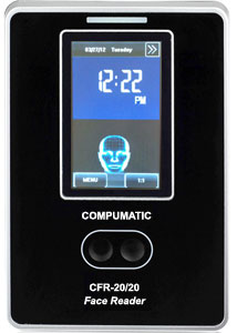 Compumatic CFR-20/20 Face Reader Biometric Facial Recognition Time Clock